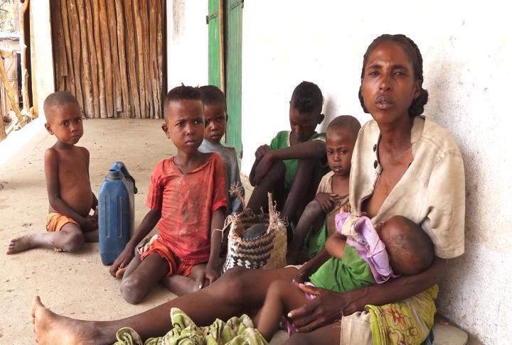 المجاعة في مدغشقر