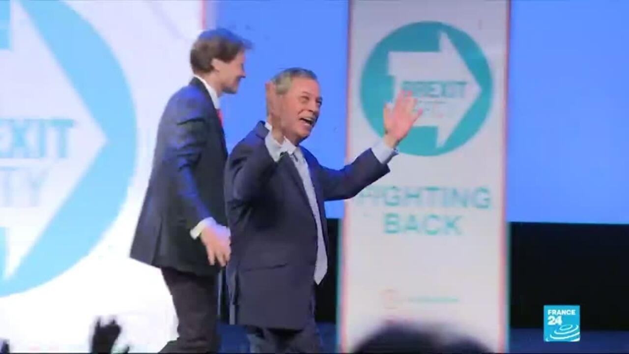Elections Européennes Au Royaume Uni: Élections Européennes : Au Royaume-Uni, Nigel Farage Est