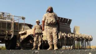 Des soldats de l'armée émiratie au Yémen, le 4 octobre 2015.