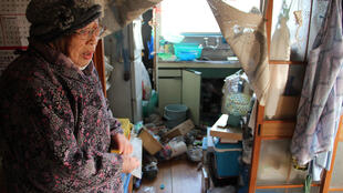 Fukushima residents were warned of the possibility of strong aftershocks after the 7.3-magnitude quake