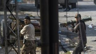 مسلحون من القوات العراقية في الموصل