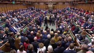 Les parlementaires britannique devaient voter, le 19octobre, sur l'accord de sortie de l'Union européenne négocié par Boris Johnson.
