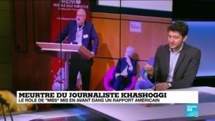 """2021-02-25 11:09 Meurtre du journaliste Khashoggi : le rôle de """"MbS"""" mis en avant dans un rapport américain"""