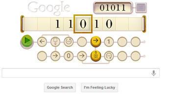L'hommage de Google à Alan Turing
