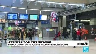 2019-12-17 19:53 Will there be a 'Christmas truce' to allow trains to return to normal in France?