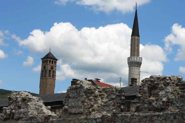 Sarajevo, une capitale multiculturelle.