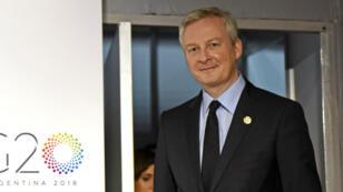 """En novembre, le ministre de l'ÉConomie Bruno Le Maire avait indique ne pas faire des """"3% un totem mais un symbole""""."""
