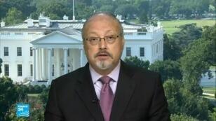 الصحافي السعودي جمال في أحد برامج فرانس24