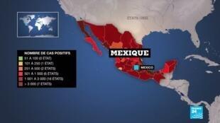 2020-06-02 13:12 Plus de 10 000 morts du Covid-19 au Mexique