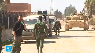 قوات النظام السوري تتقدم في الغوطة الشرقية.