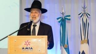 El Gran Rabino de Argentina, Gabriel Davidovich, fue objeto e un ataque en su casa.