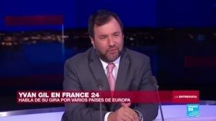 Yván Gil en France 24