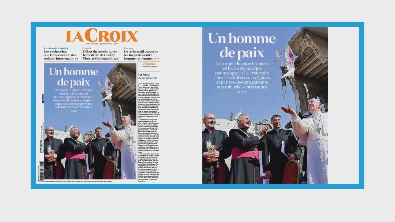 Le pape François appelle à la paix en Irak