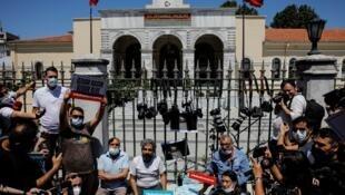 TURKEY-RIGHTS-JOURNALISTS