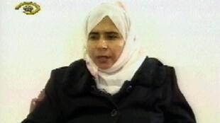 Sajida al-Richawi est emprisonnée en Irak depuis 2005.