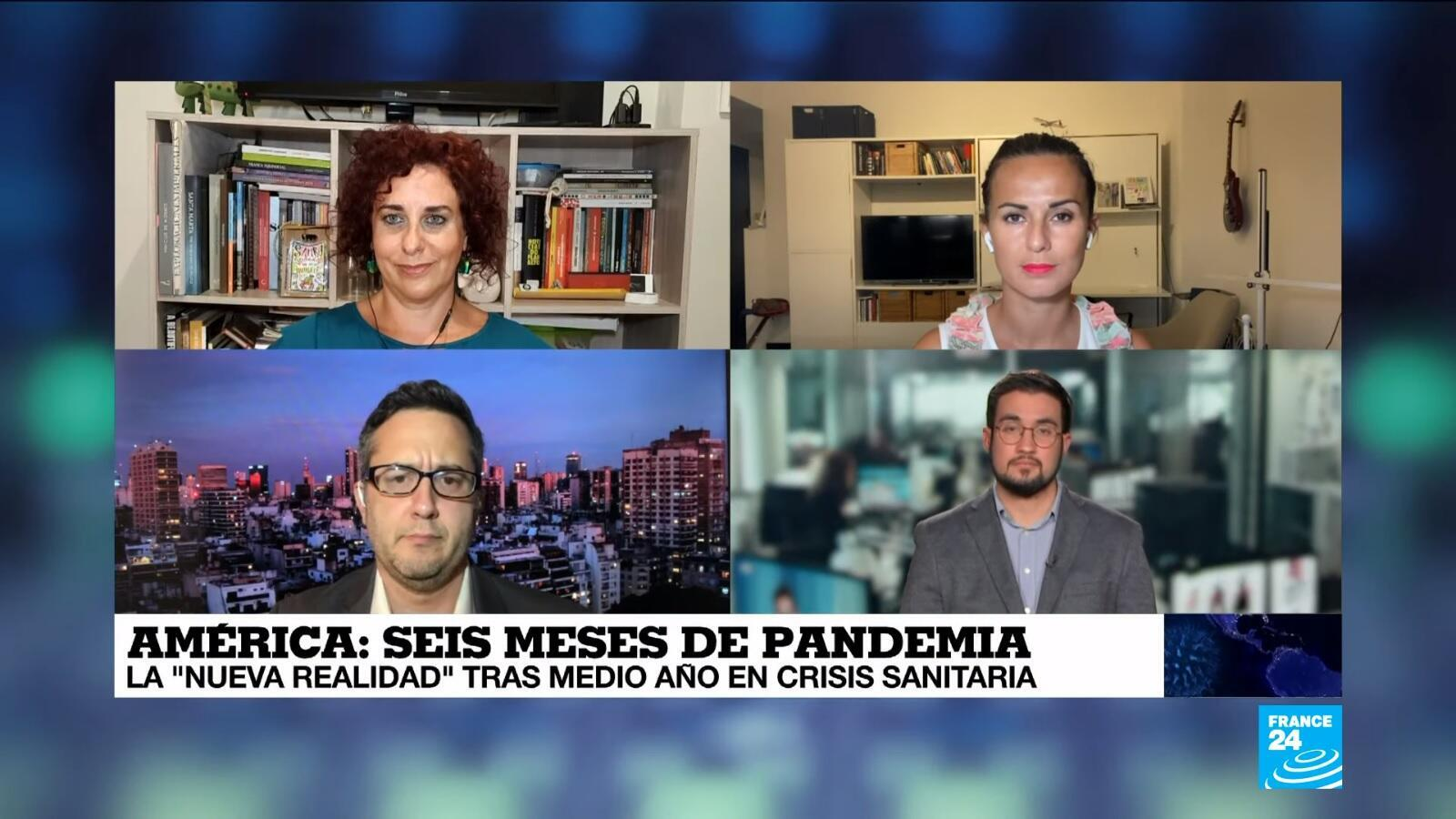 Covid-19 La Semana en América - seis meses de pandemia