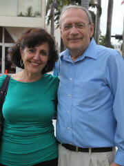 Al Lieber with his wife.