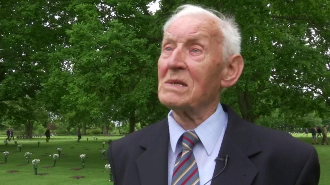 Paul Golz volvió a Normandía 75 años después del Día-D.