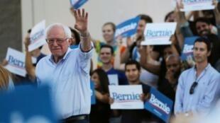 Democratic presidential hopeful Bernie Sanders.