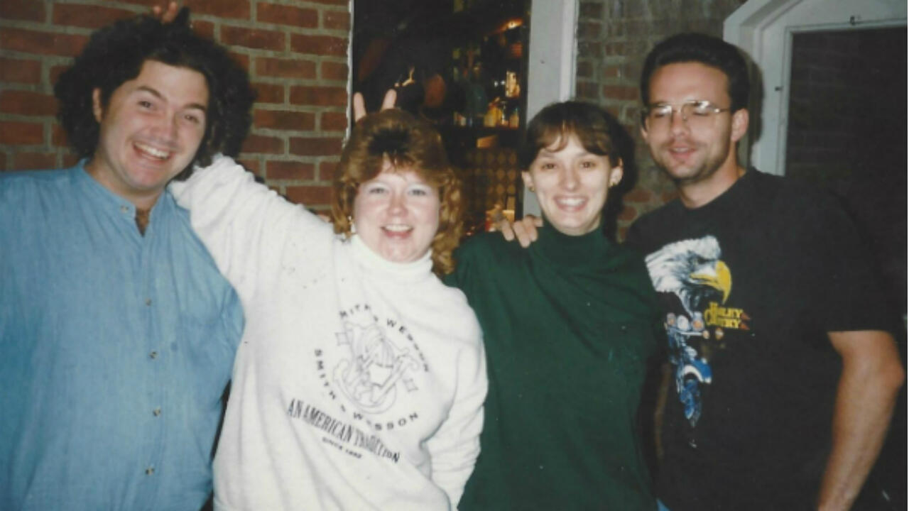 Rockwell Patterson, Meaghan Patterson Carter, Mindi Patterson and her brother in Dayton, Ohio.