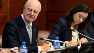 موفد الأمم المتحدة الخاص إلى سوريا ستافان دي ميستورا