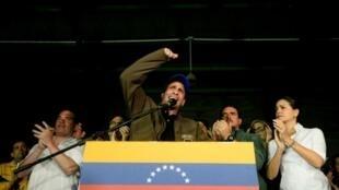 هنريكي كابريليس أحد زعماء المعارضة الفنزويلية