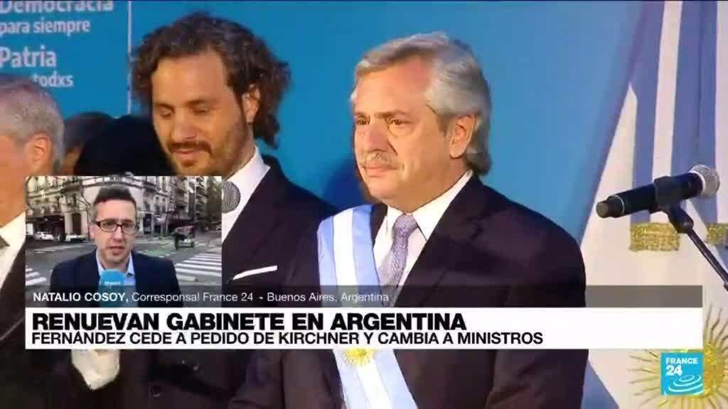 2021-09-18 16:02 Informe desde Buenos Aires: Fernández cede y modifica su gabinete ministerial