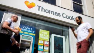 Le voyagiste Thomas Cook emploie 22000 personnes au Royaume-Uni.