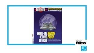 Libération Macron Covid
