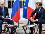 À Brégançon, Emmanuel Macron appelle au respect de la liberté de manifester en Russie