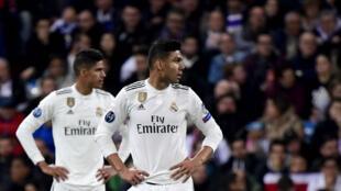 خسارة ريال مدريد أمام ضيفه أجاكس أمستردام 1-4. الثلاثاء 5 مارس/آذار 2019.
