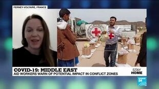 2020-04-19 13:06 Covid-19 in the Middle East : aid workers warn of potential impact in conflict zones