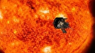 صورة متخيلة للمسبار باركر 2 نشرتها وكالة ناسا للفضاء في 6 مارس/ آذار 2018
