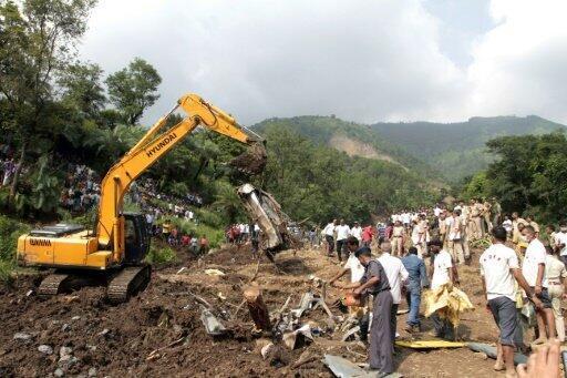 البحث عن ناجين وجثث بعد انهيار أرضي على بعد مئتي كيلومتر عن سيمالا عاصمة ولاية هيماشال براديش