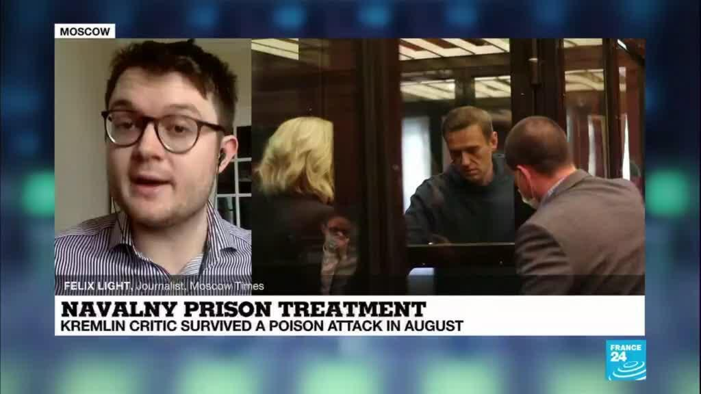 2021-04-01 09:09 Alexei Navalny announces start of prison hunger strike over inadequate medical treatment