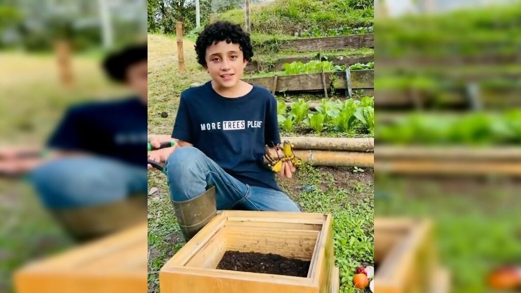 Un Colombien de 14ans utilise les réseaux sociaux pour valoriser le travail des paysans
