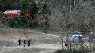 Agentes de la Gendarmería fueron enviados al lugar del accidente.
