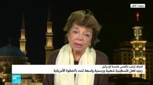 ليلى شهيد سفيرة فلسطين السابقة لدى بلجيكا ولوكسمبورغ والاتحاد الأوروبي