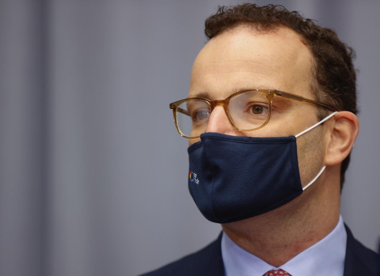 El ministro de Salud de Alemania, Jens Spahn, antes de una reunión de la Asamblea Parlamentaria Franco-Alemana el 22 de septiembre de 2020 en Berlín.