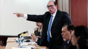 El abogado del vicepresidente ecuatoriano Jorge Glas, Eduardo Franco Loor.