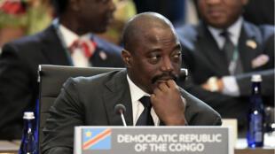 Le président Joseph Kabila lors du sommet États-Unis - Afrique en juin 2014.