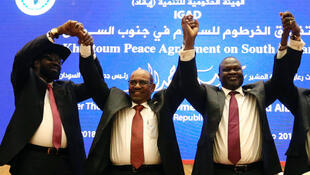 Las partes en conflicto de Sudán del Sur, acordaron un cese al fuego permanente como primer paso para la consolidación de la paz en la zona. Junio 27 de 2018.
