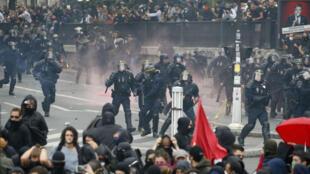 Des heurts ont émaillé la manifestation parisienne le jeudi 15 septembre.