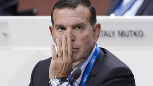 Juan Angel Napout, pictured in 2015 while CONMEBOL president, is serving a nine-year sentence in the US for corruption
