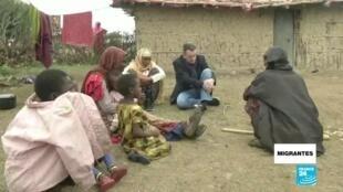 Migrantes desplazados cambio climático