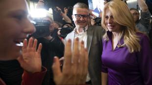 Zuzana Caputova a été élue présidente de la Slovaquie, le 30 mars 2019.