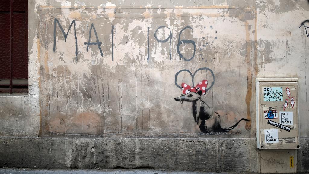 El artista británico Banksy parece haber vuelto a París desde hace unos días.