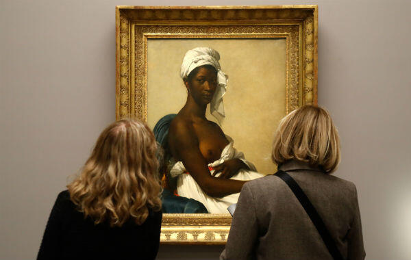 """Portrait of a Negress"" – renamed ""Portrait of Madeleine"" for the show – by Marie-Guillemine Benoist."