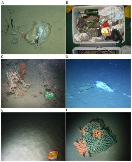 Les objets trouvés dans les eaux européennes