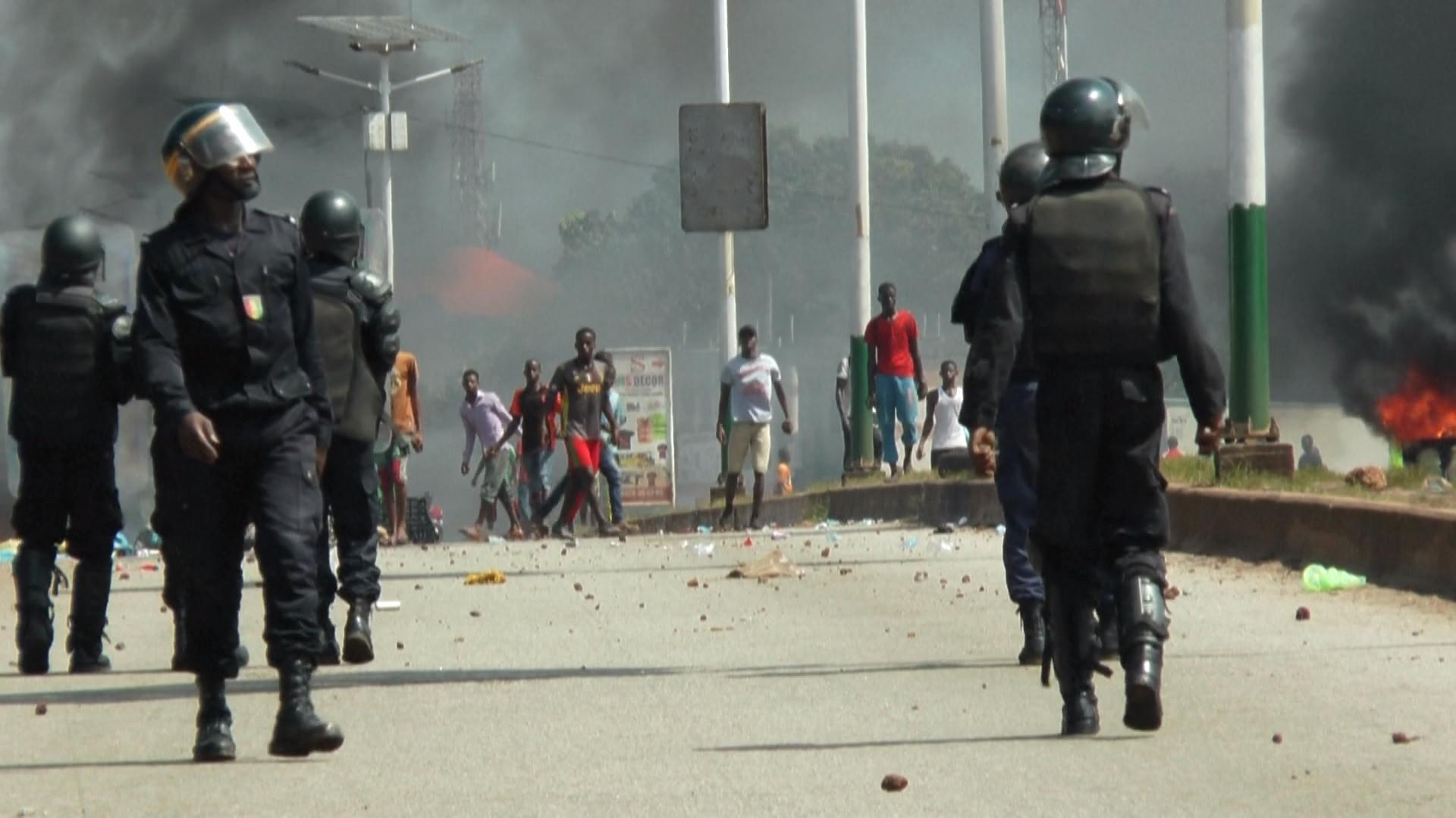 Tensions à Conakry, Guinée